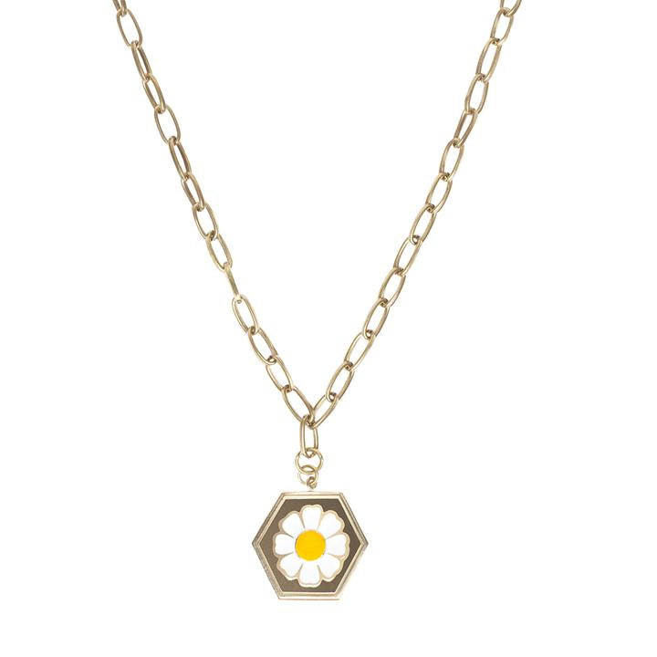 WILHELMINA GARCIA DAISY NECKLACE