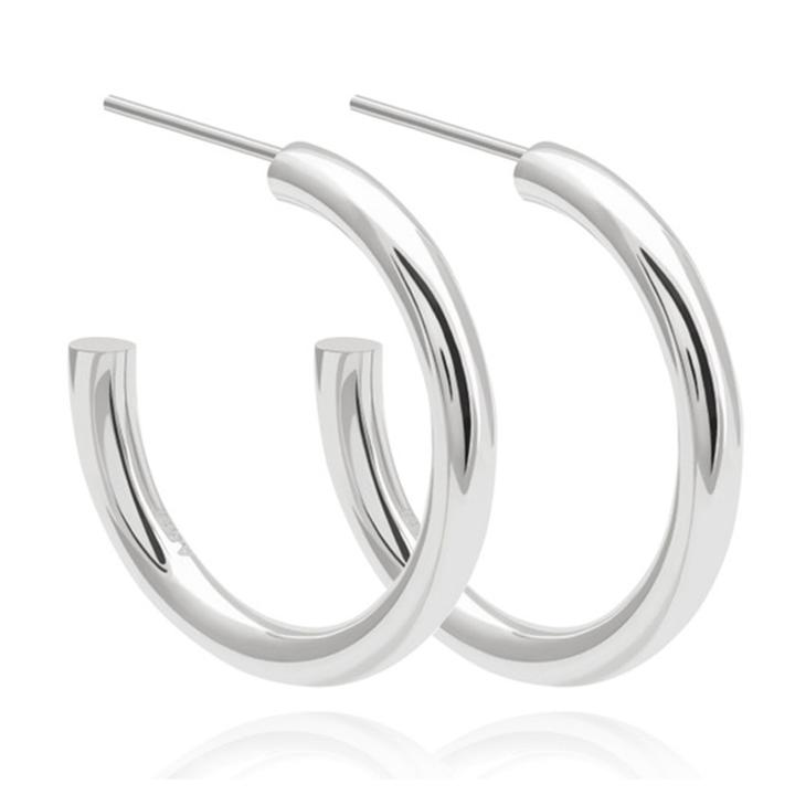 ASTRID & MIYU BASIC LARGE HOOP EARRINGS