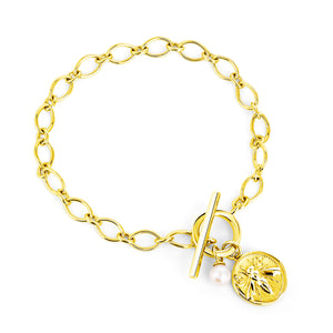 CLAUDIA BRADBY Honeybee Toggle Bracelet