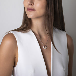 CLAUDIA BRADBY CIRCLE OF LIFE PEARL RING NECKLACE