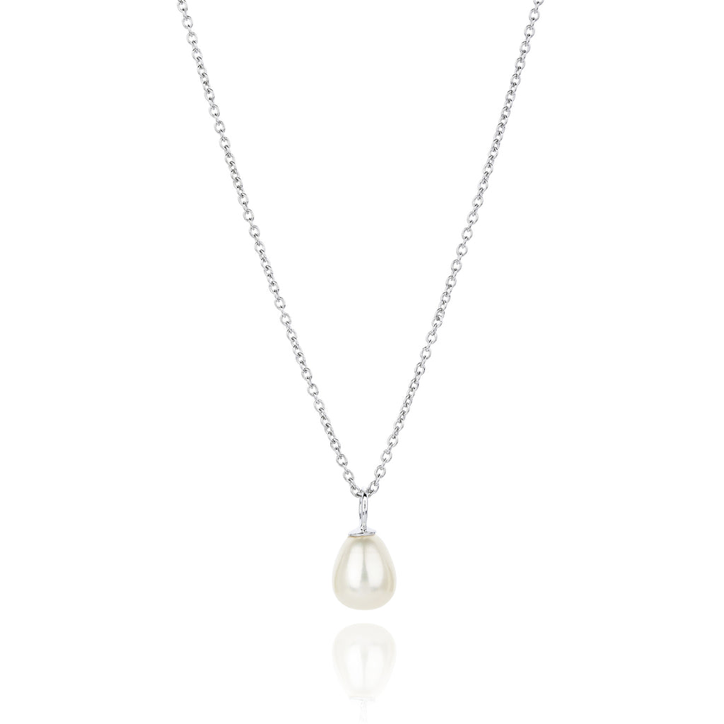 CLAUDIA BRADBY FAVOURITE PEARL DROP NECKLACE