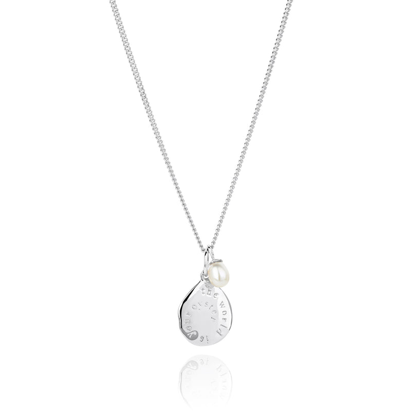 CLAUDIA BRADBY THE WORLD IS YOUR OYSTER MICRO NECKLACE