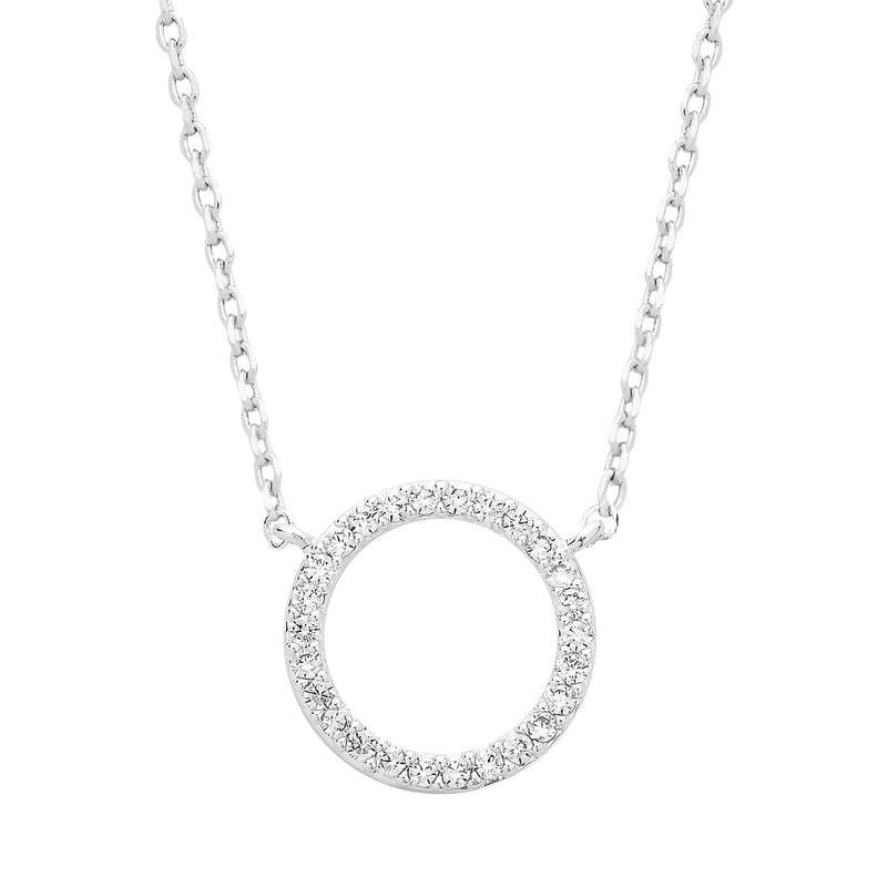 ESTELLA BARTLETT CIRCLE CZ NECKLACE