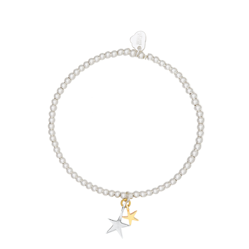 ESTELLA BARTLETT SIENNA DOUBLE STAR BRACELET
