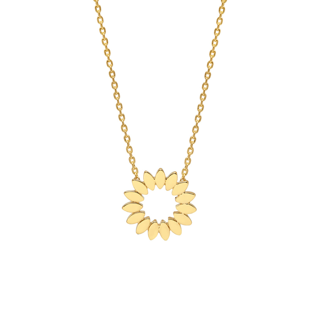 ESTELLA BARTLETT MODERN FLOWER NECKLACE