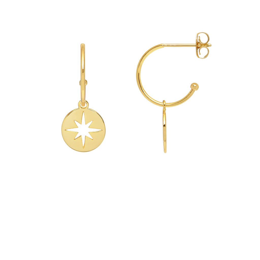 ESTELLA BARTLETT STARBURST DROP EARRINGS