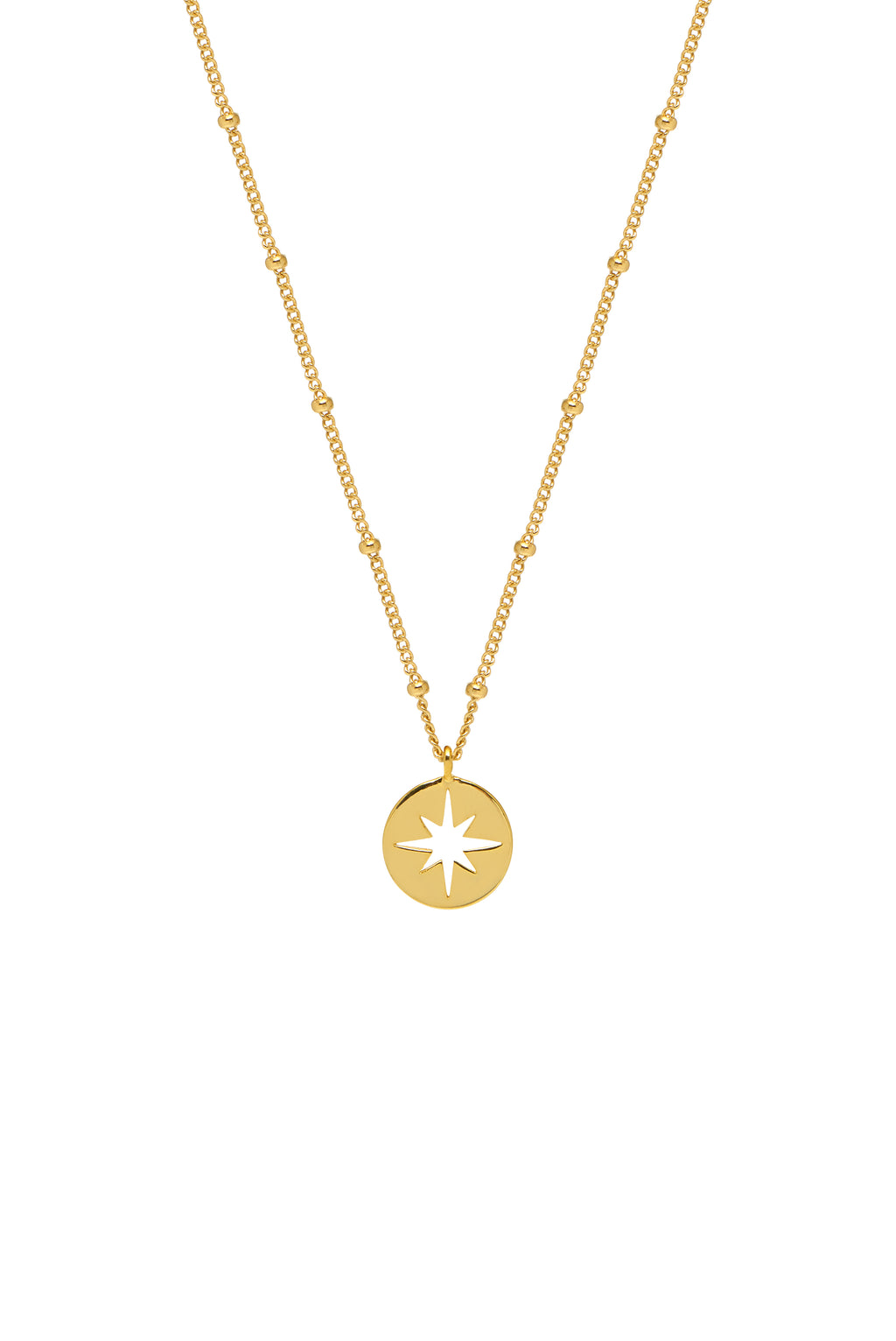ESTELLA BARTLETT CUT OUT STARBURST NECKLACE
