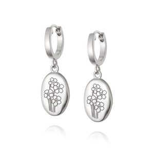 DAISY LONDON FORGET ME NOT DROP EARRINGS