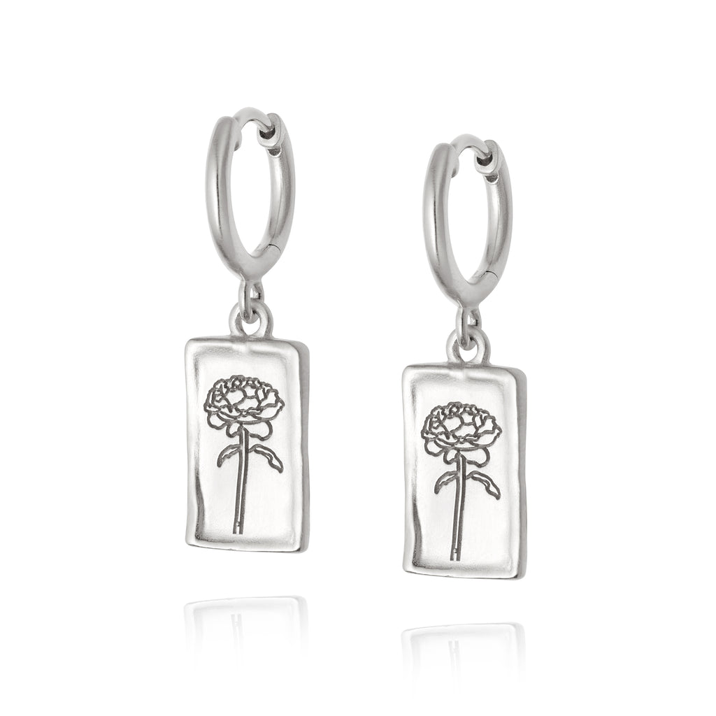 DAISY LONDON ROSE DROP EARRINGS