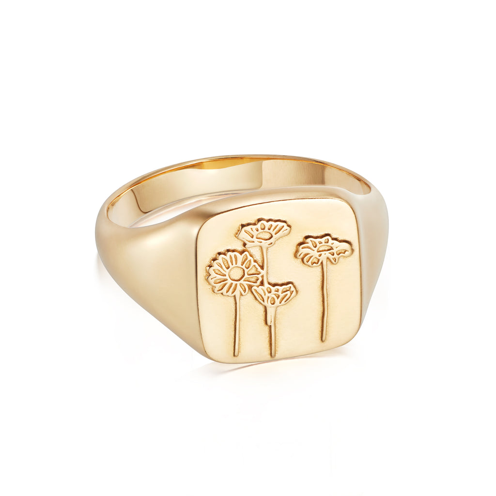 DAISY LONDON WILD DAISIES RING