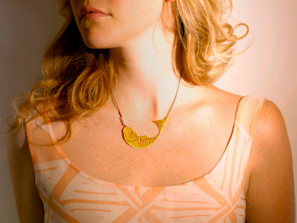 JOANNA CAVE FISH NECKLACE