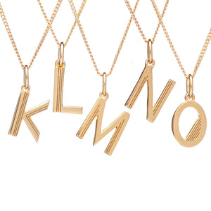 RACHEL JACKSON INITIAL NECKLACE