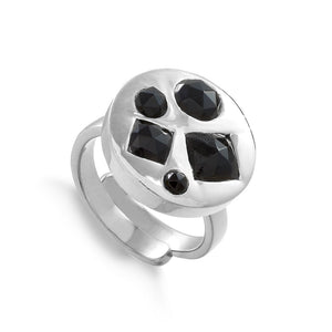 SVP BLACK QUARTZ HEADLIGHT DISCO ADJUSTABLE RING