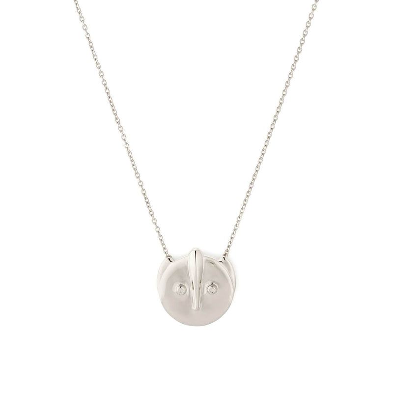 MOTLEY PUCK PEDANT NECKLACE