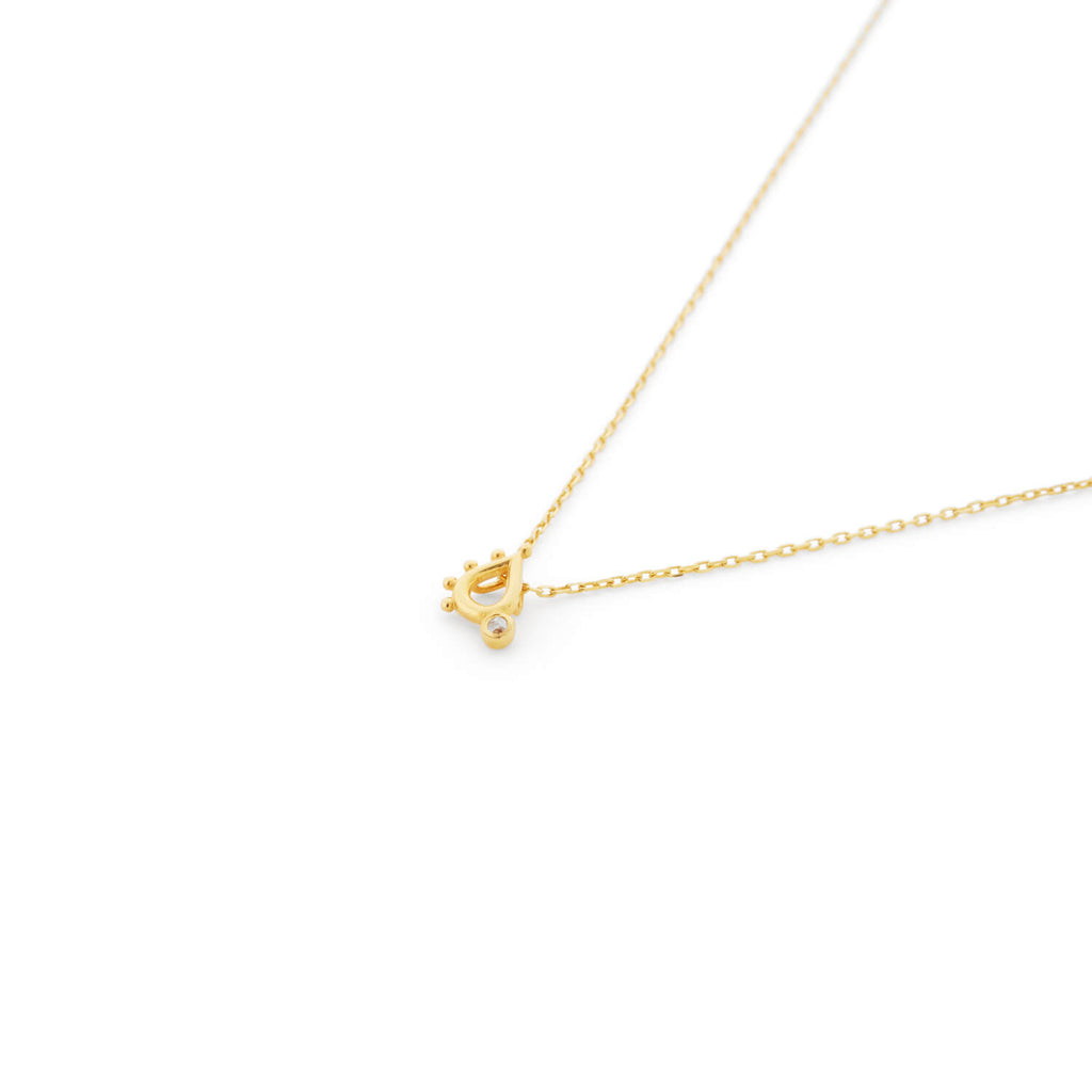 MOTLEY GOLD COLERIDGE DIAMOND NECKLACE