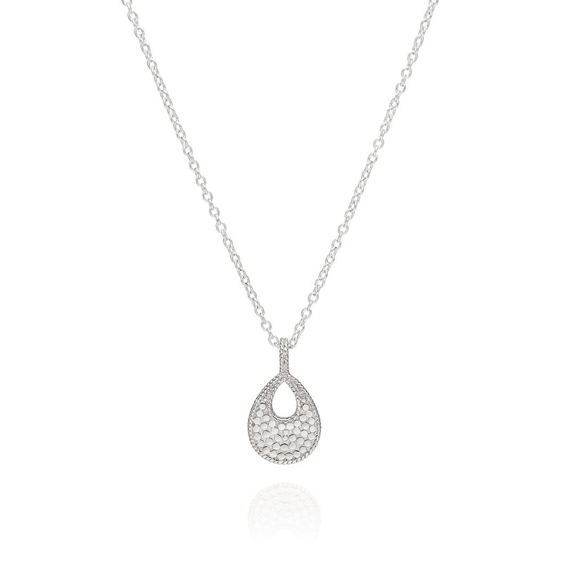 ANNA BECK SMALL OPEN DROP PENDANT NECKLACE