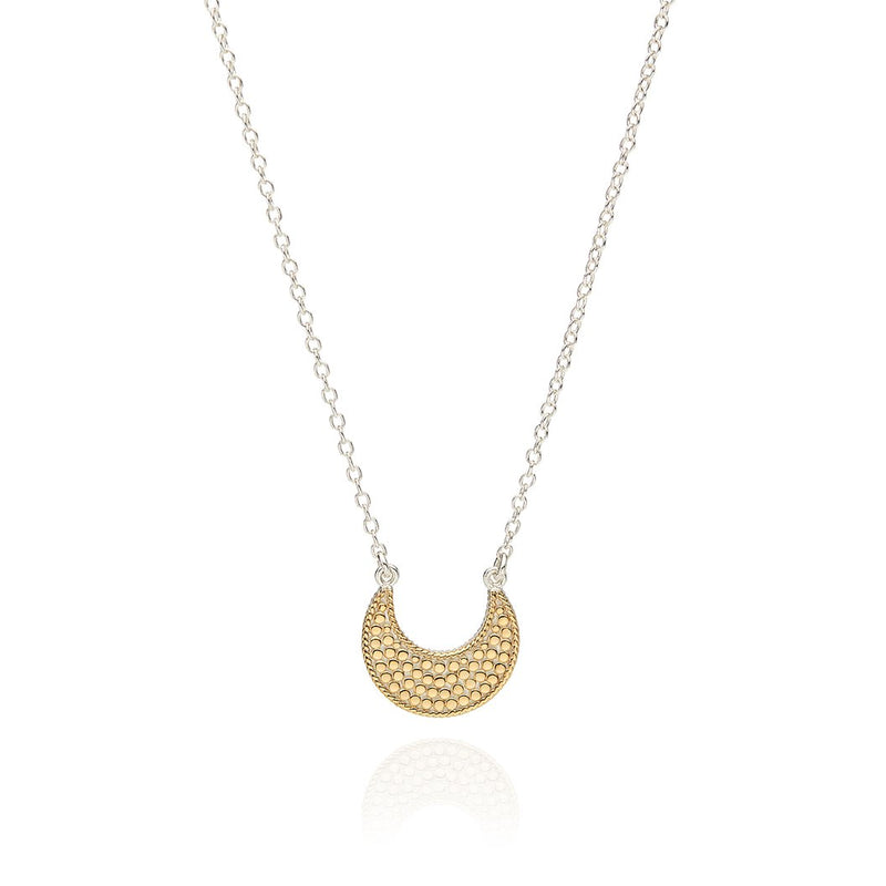 ANNA BECK SMALL CRESCENT REVERSIBLE NECKLACE