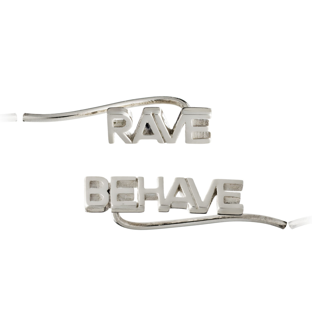 RACHEL JACKSON RAVE/BEHAVE CRAWLER EARRINGS