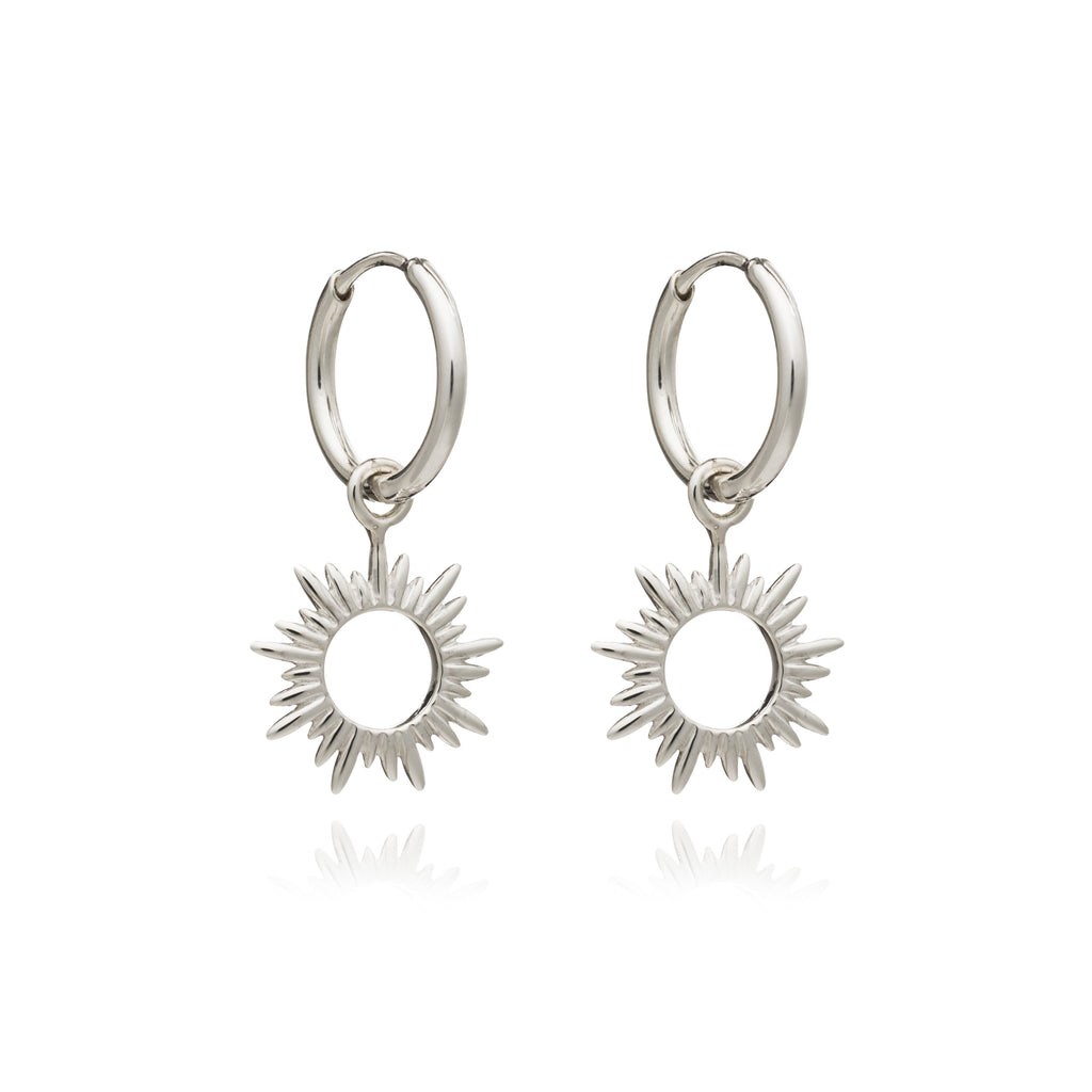 RACHEL JACKSON SUNRAYS MINI HOOP EARRINGS