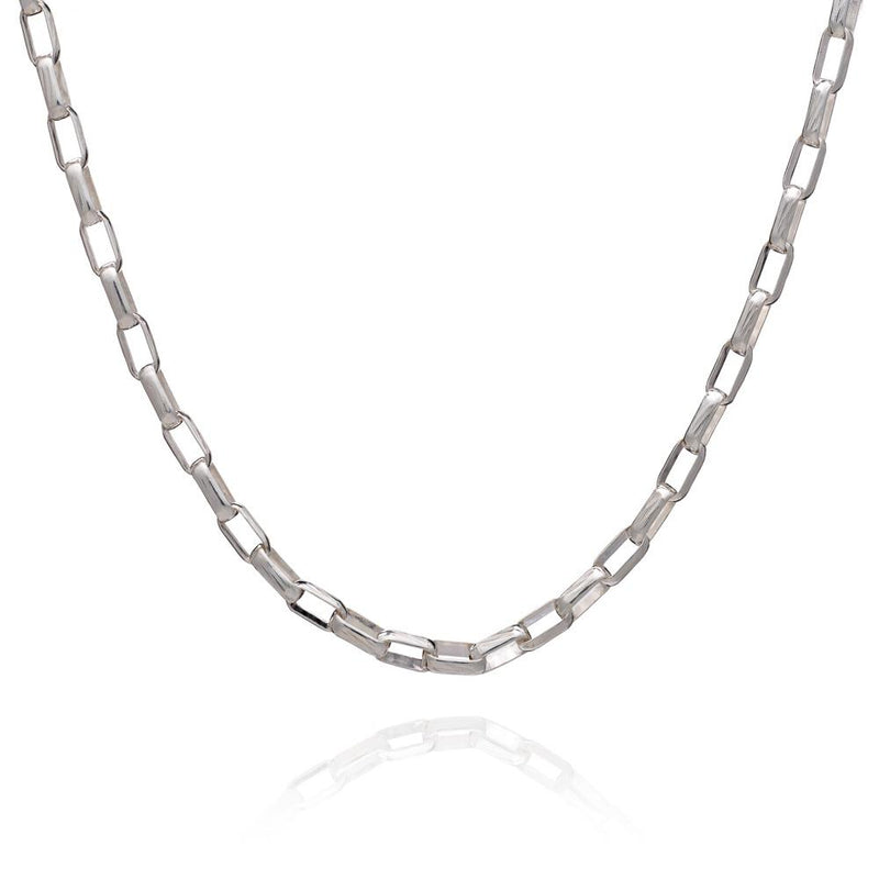 RACHEL JACKSON BOYFRIEND BOX CHAIN NECKLACE