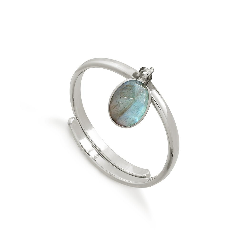 SVP LABRADORITE RIO ADJUSTABLE RING
