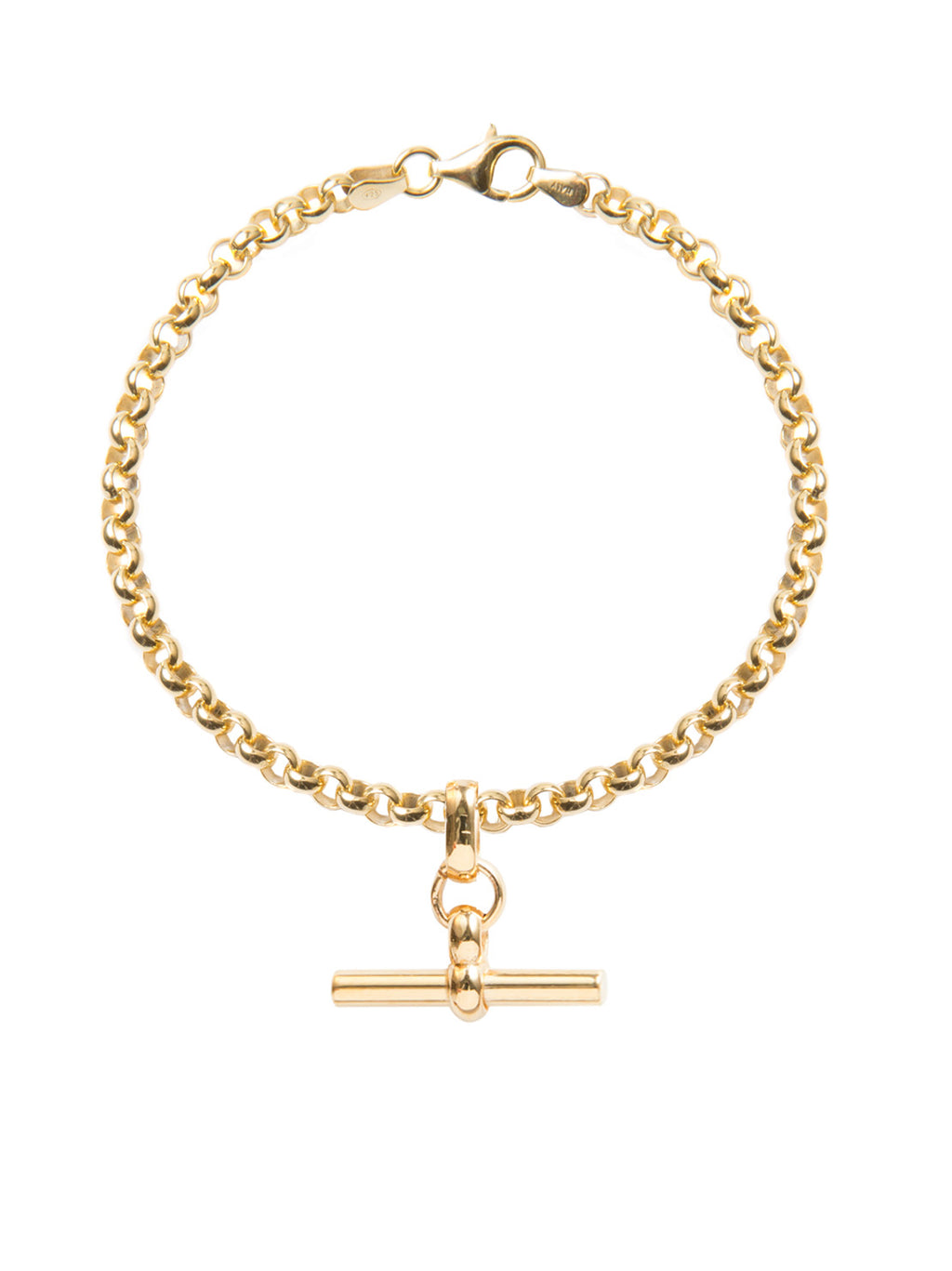 TILLY SVEAAS BELCHER BRACELET WITH T BAR