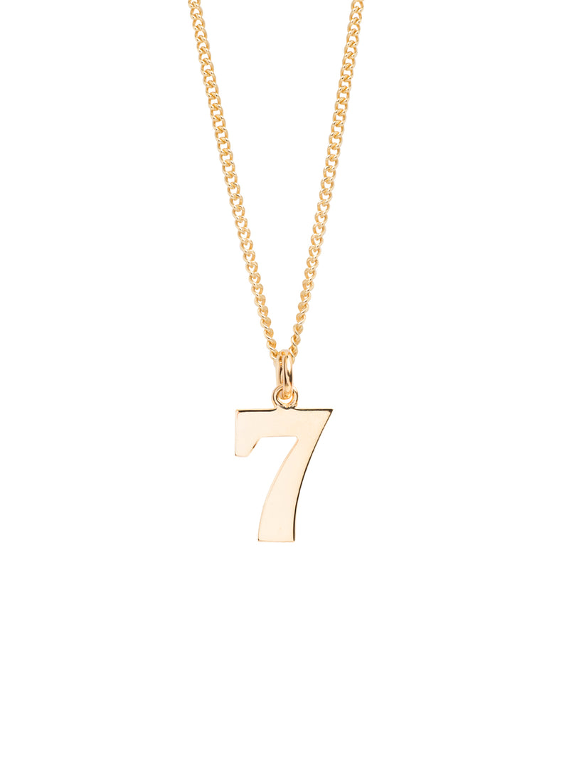 TILLY SVEAAS NUMBER 7 NECKLACE