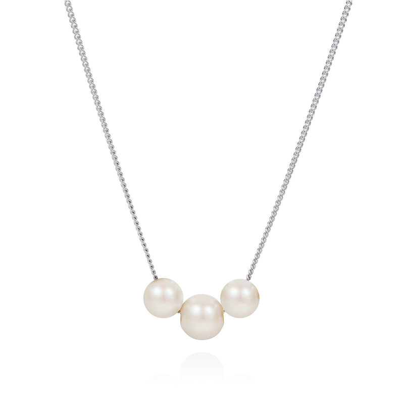 CLAUDIA BRADBY ABACUS WHITE PEARL NECKLACE