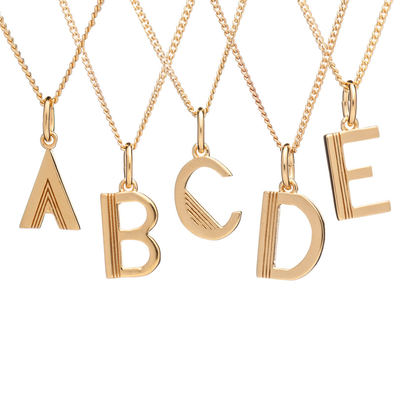 Rachel Jackson Initial Necklace Stockist Southwell