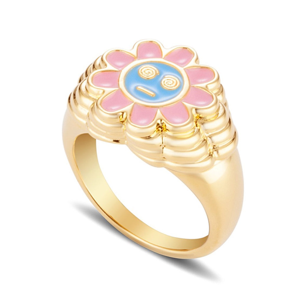 JULY CHILD DAZED FLOWER RING