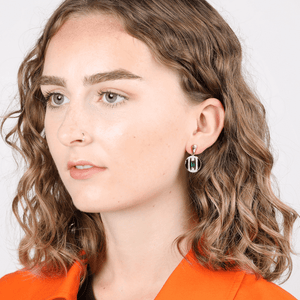 V BY LAURA VANN DAPHNE CIRCLE DROP EARRINGS