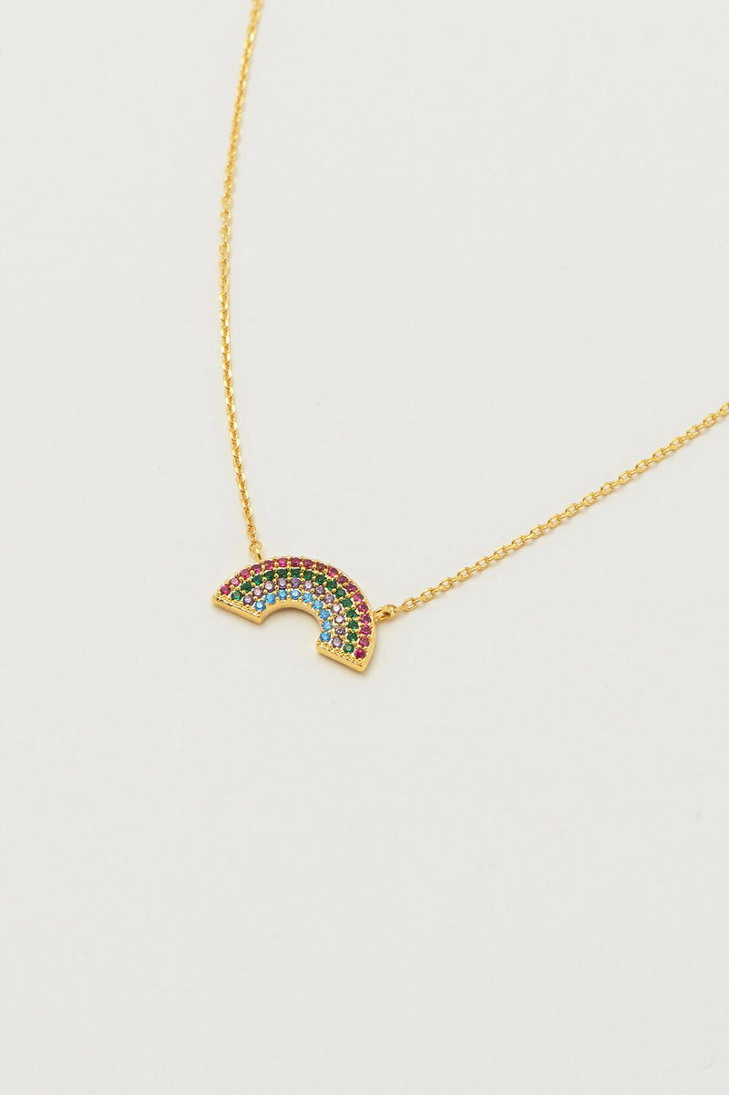 ESTELLA BARTLETT FULL RAINBOW NECKLACE