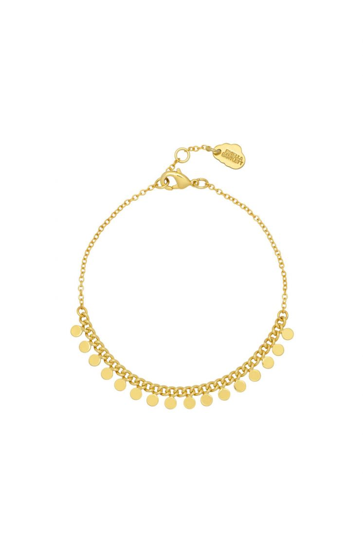 ESTELLA BARTLETT MULTI DISC CHAIN BRACELET