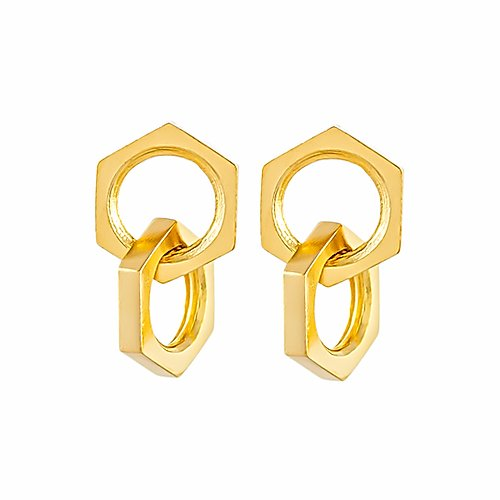 PHINE SMALL FOREVER INTERLINKED EARRINGS