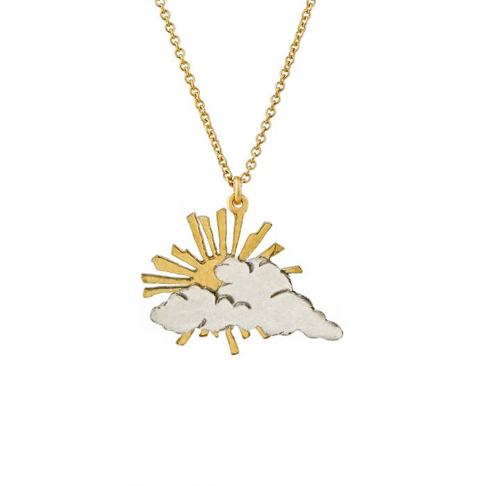 ALEX MONROE RAYS OF HOPE NECKLACE