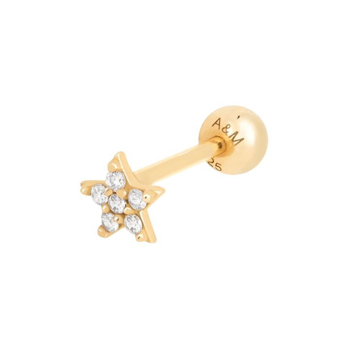 ASTRID & MIYU JEWELLED STAR BARBELL