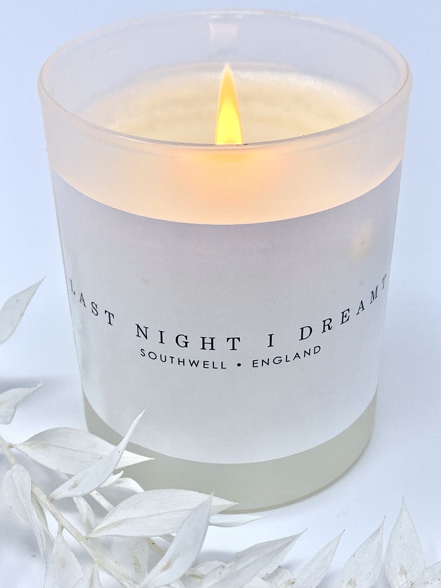 LAST NIGHT I DREAMT CANDLE