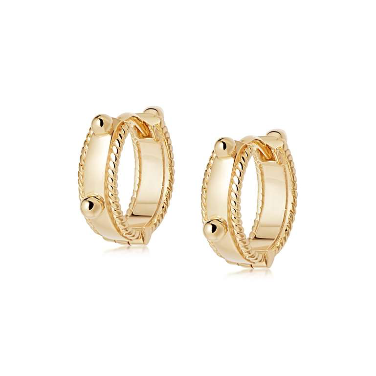Daisy London Huggie Earrings Stockist Nottingham