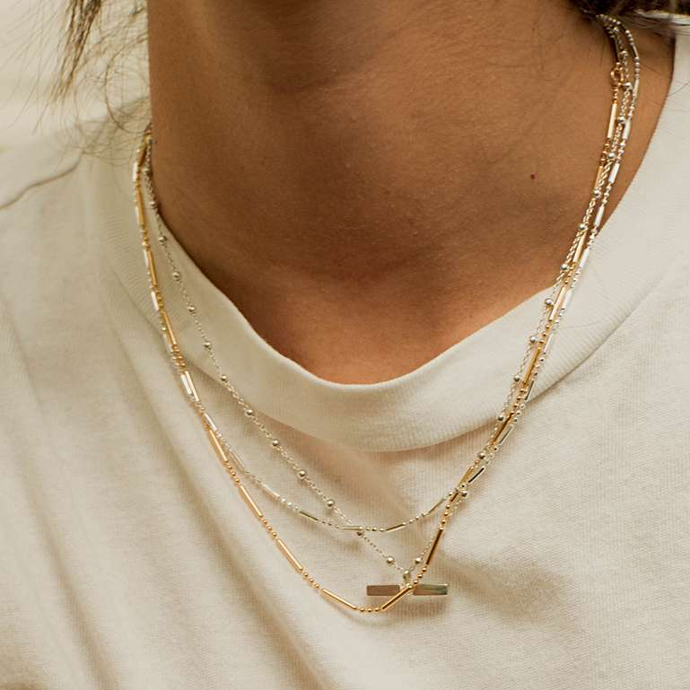 DAISY LONDON STACKED ESSENTIAL NECKLACE