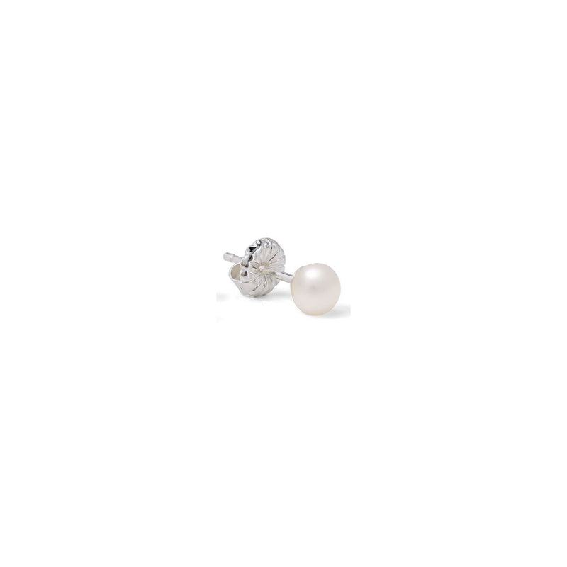 CLAUDIA BRADBY SINGLE PEARL MANHATTAN STUD