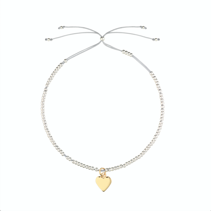 ESTELLA BARTLETT LOUISE HEART BRACELET