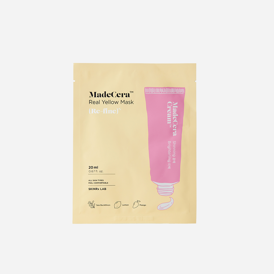 SKINRx LAB MadeCera Real Yellow Mask
