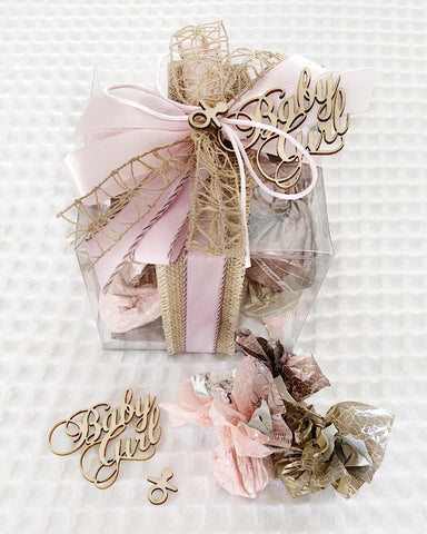 Baby Girl Chocolate Box