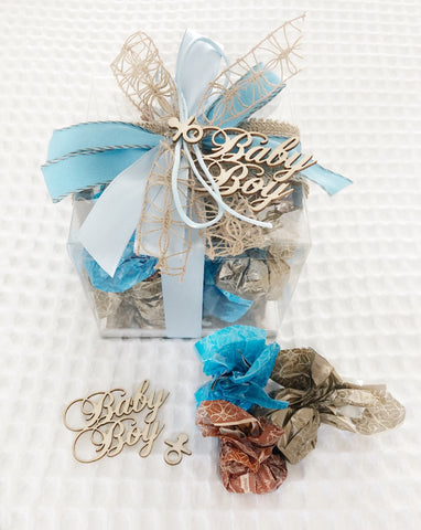 Baby Boy Chocolate Box