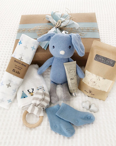 Mum and Bub Gift Box Blue