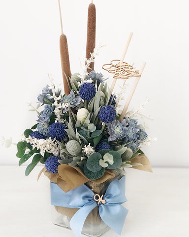 It's A Boy Floral Arrangement
