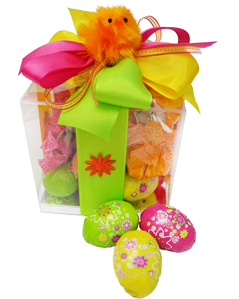 Easter Chick Choc Box Large