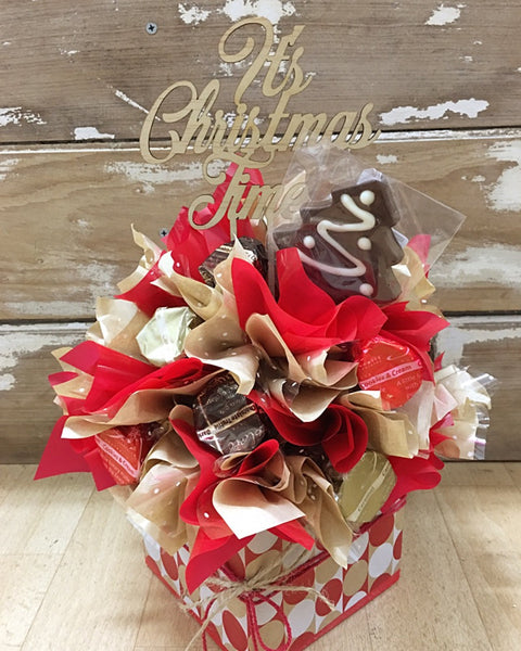 Festive Chocolate Tree