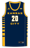 Men's Basketball Customized Game Jersey Top