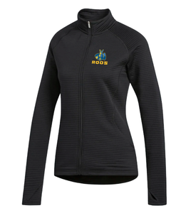 Women's  Black Full Zip Jacket
